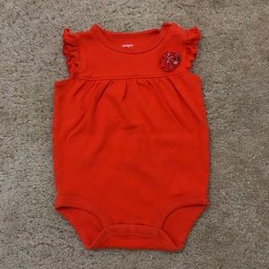Carter's One Pieces - Carter's 6 Month Onesies